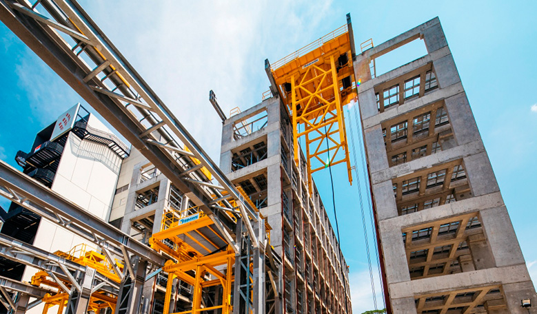 INTEGRATED CONSTRUCTION & PREFABRICATION HUB